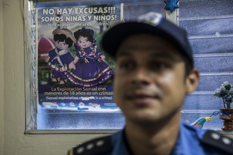Campaña contra la explotación sexual con menores en Nicaragua