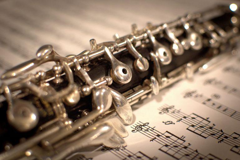 La música de paz del oboe de Gabriel
