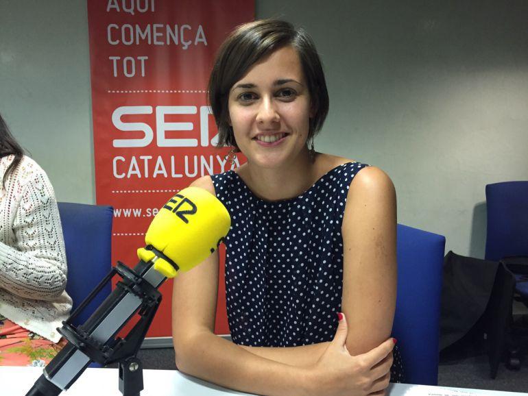 Jenn Díaz, en los estudios de Cadena SER