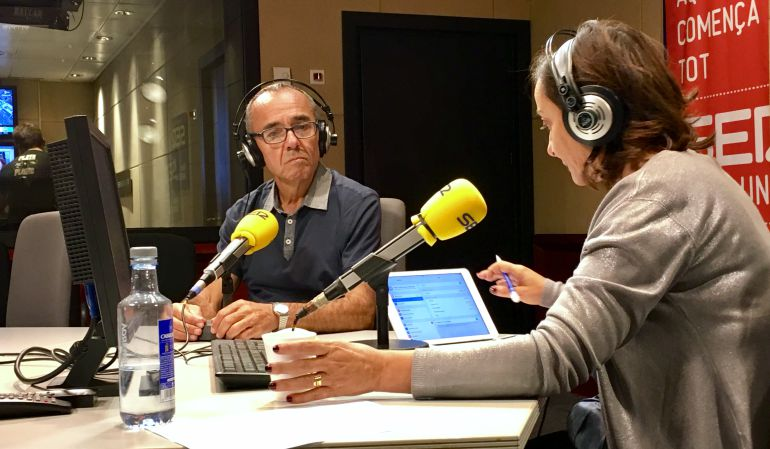 Pepa Bueno entrevista en Radio Barcelona a Joan Coscubiela, portavoz parlamentario de Catalunya Sí Que Es Pot