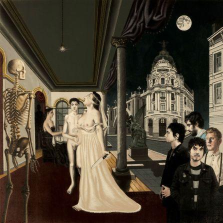 La portada de 'Sentido del espectáculo', el segundo disco de Biznaga, está basada en un cuadro del pintor belga Paul Delvaux.