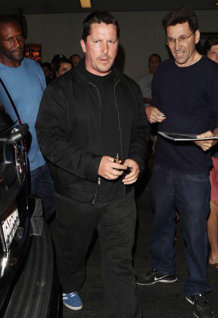 Christian Bale en Los Ángeles.