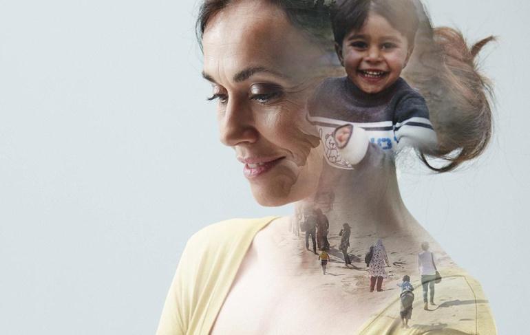 Imagen promocional de la nueva campaña de ACNUR