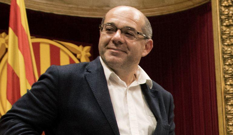 El vicepresidente del Parlament, Lluis Guinó