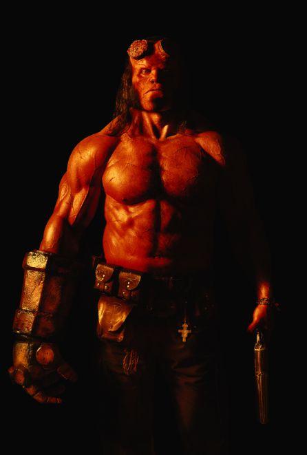 El nuevo Hellboy de David Harbour.