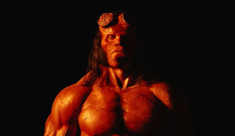 Así es el nuevo Hellboy.