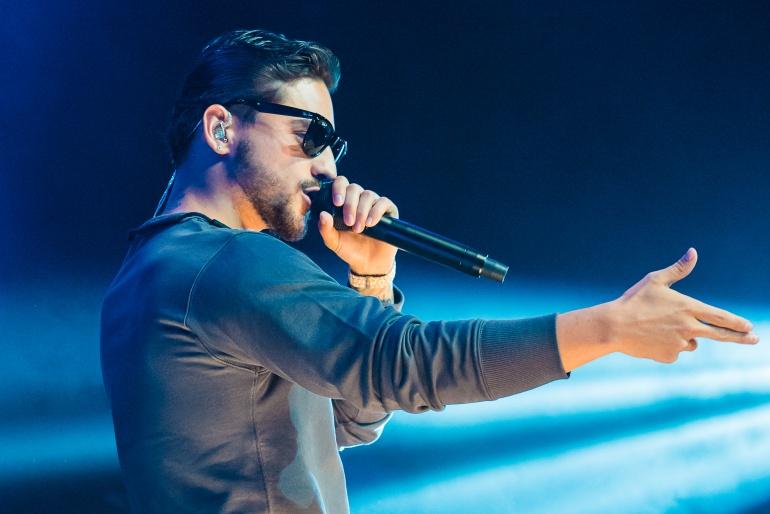 El cantante Maluma, uno de los artistas vetados en Torrijos (Toledo)