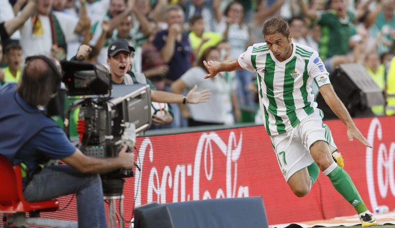 El centrocampista del Betis Joaquín Sánchez.