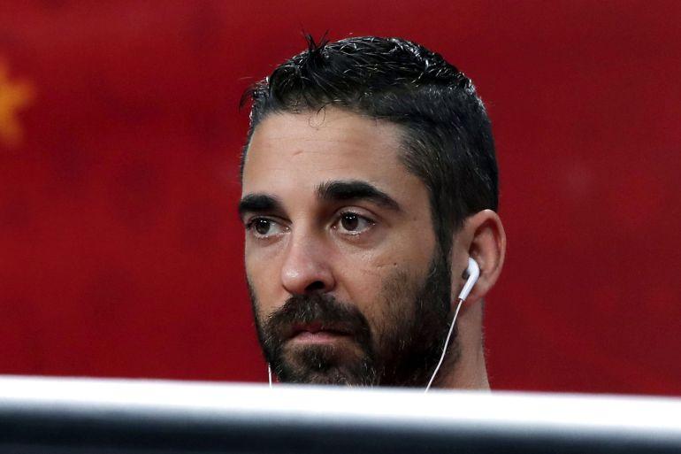 El capitán de la selección española de baloncesto Juan Carlos Navarro.