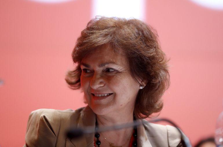 """Carmen Calvo, en la SER: Carmen Calvo: """"Hasta que vote el Senado hay muchas horas para evitar llegar al 155"""""""