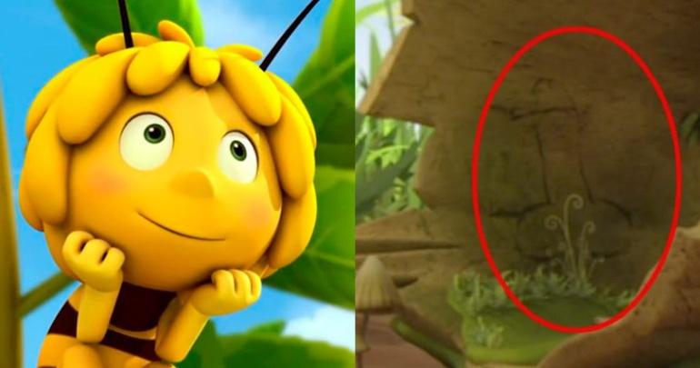 La abeja Maya y la escena de la discordia