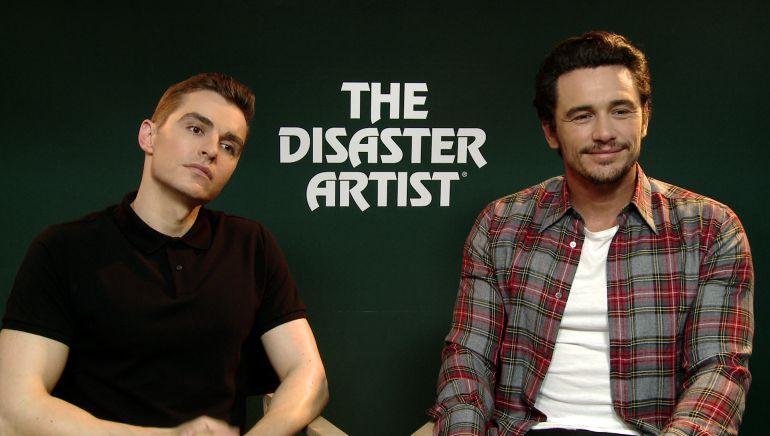 Los hermanos Dave y James Franco presentan en el Festival de Cine de San Sebastián, The disaster artist