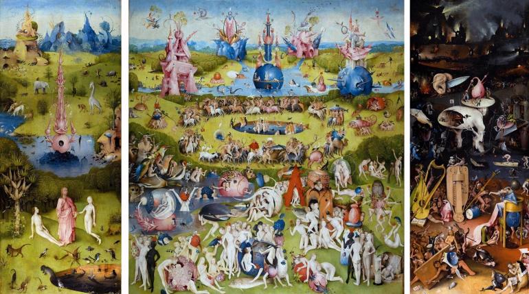 'El jardín de las delicias', de El Bosco