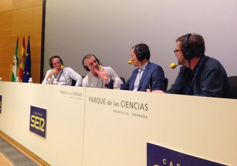 'La Ventana' desde el Parque de las Ciencias de Granada
