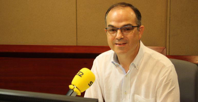 "Jordi Turull, en la SER: Jordi Turull pide ""hacer política"""