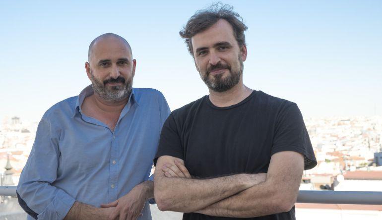 Jorge y Alberto Sánchez-Cabezudo, en la terraza de la Cadena SER