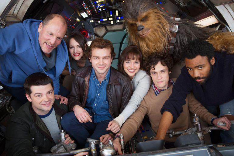 El reparto de la nueva película de la Guerra de las Galaxias