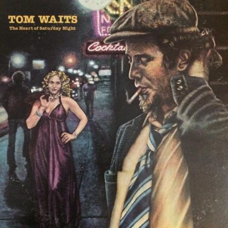 Portada del disco 'The heart of Saturday night' de Tom Waits