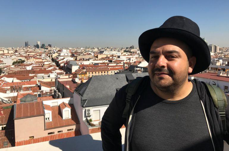 Camilo Lara, encantado de estar en Madrid de nuevo