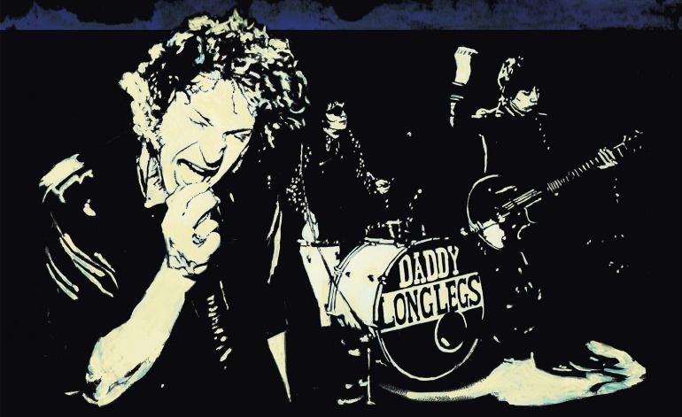 Portada de Rides Tonight, el álbum en directo de Daddy Long Legs