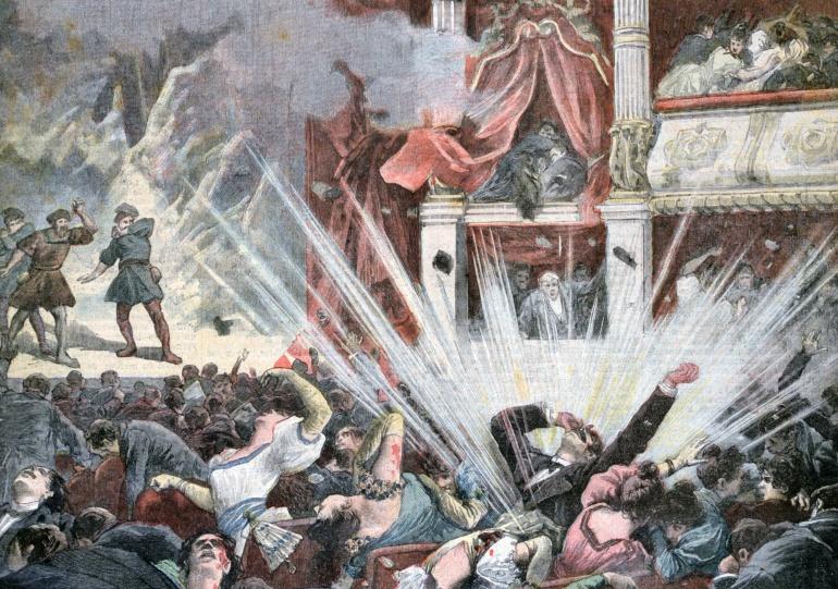 La explosión en el Teatro Liceo de Barcelona el 7 de noviembre de 1893