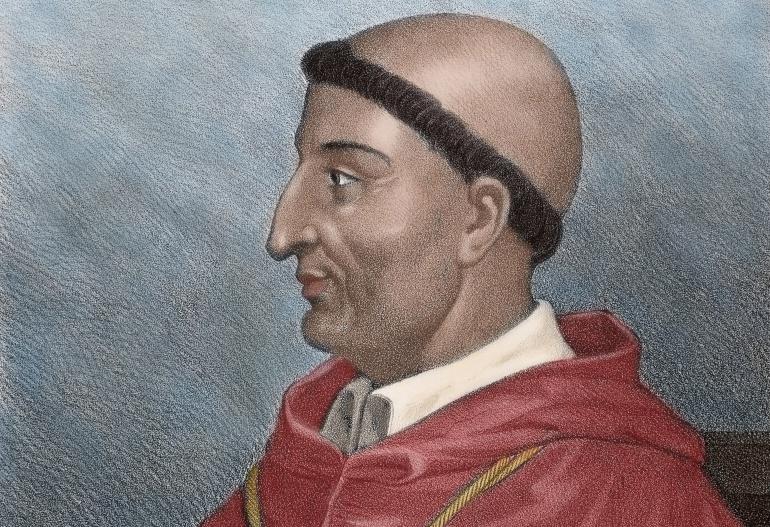 El cardenal Francisco Jiménez de Cisneros