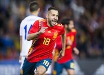 """Jordi Alba: """"Hoy he vuelto a disfrutar de la Selección"""""""