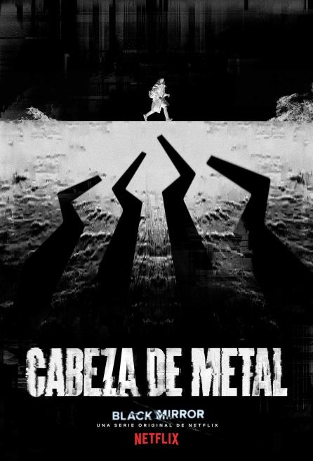 "Poster de ""Cabeza de metal"""