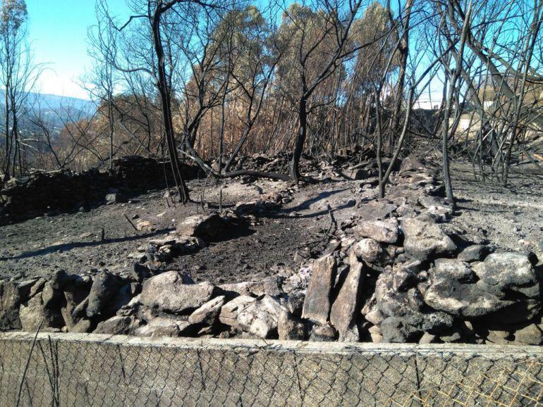 Facturas de 800 euros a personas que vieron arder sus casas