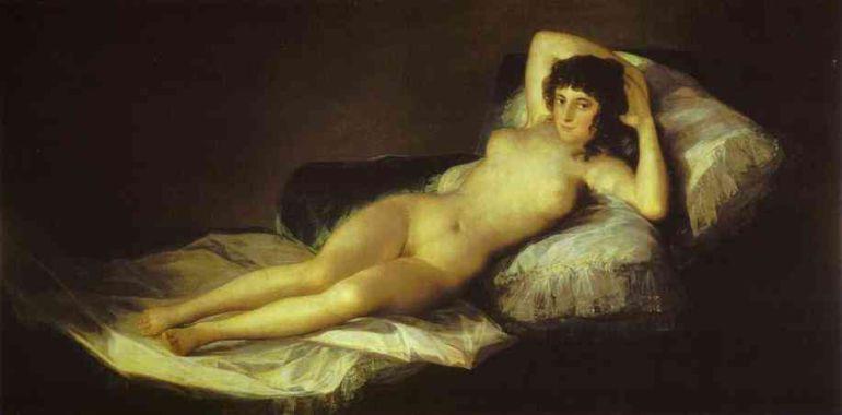 La desconocida polémica entre la maja desnuda y la maja vestida