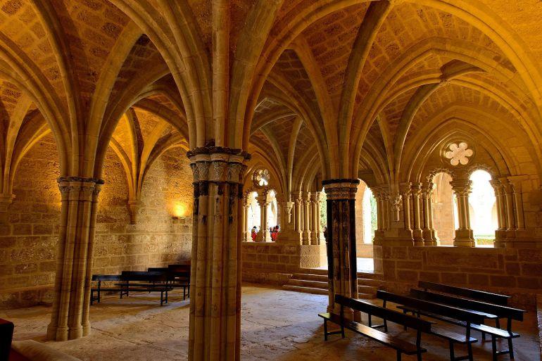 Interiores del Montasterio de Piedra (Calatayud, Zaragoza).