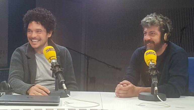 Alberto Rodríguez y Pablo Molinero