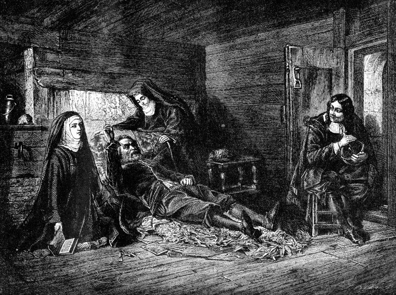 Galileo en la cárcel de la Inquisición