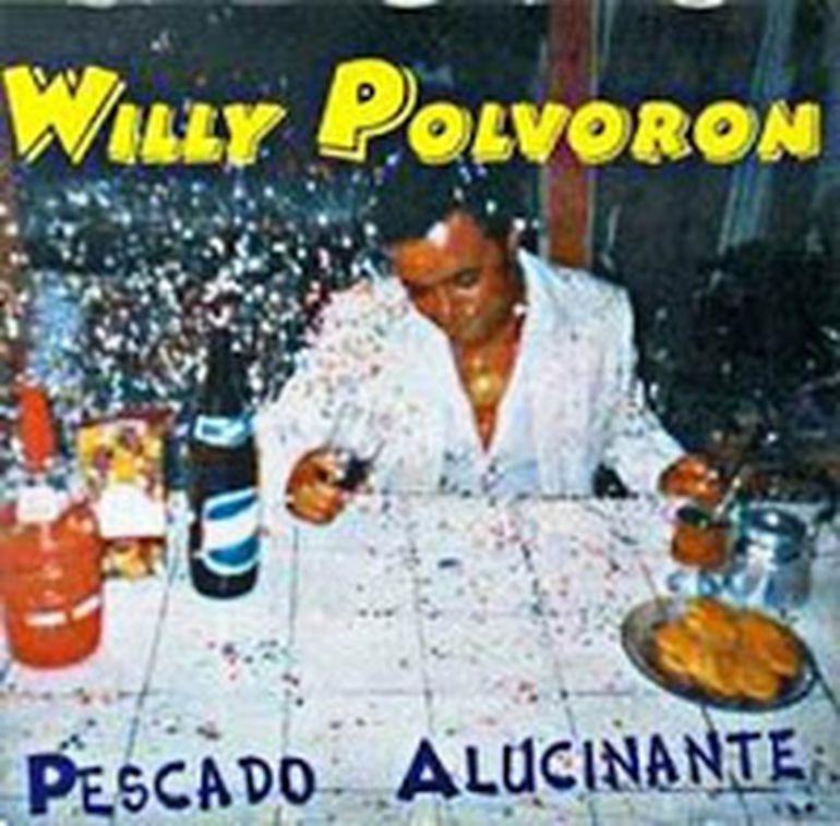 Portada del disco de Willy Polvorón