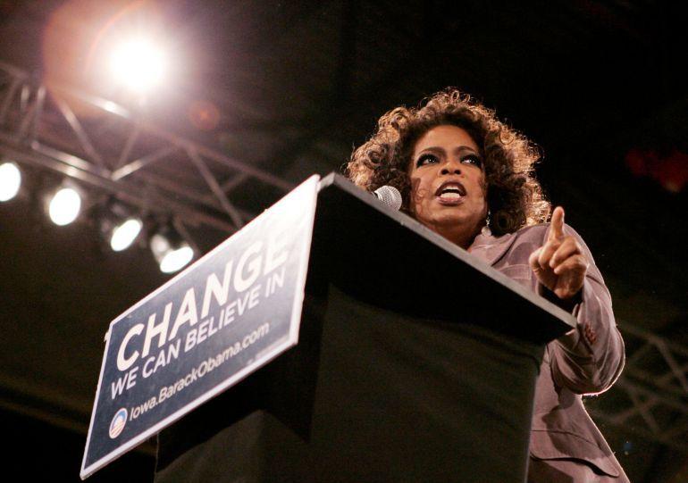 El discurso de Oprah Winfrey desde el punto de vista de la publicidad