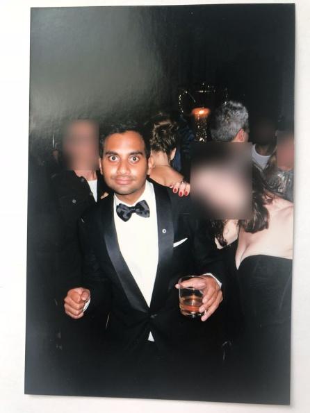 Imagen de Aziz Ansari y 'Grace' en la fiesta posterior a los Emmy