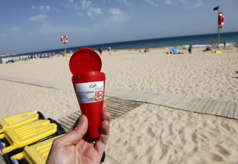 ¿Prohibido fumar en las playas?