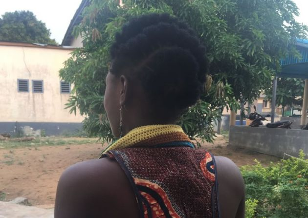 Abla fue vendida cuando tenía 8 años. La Policía nigeriana la liberó y nueve años después se ha reencontrado con su familia