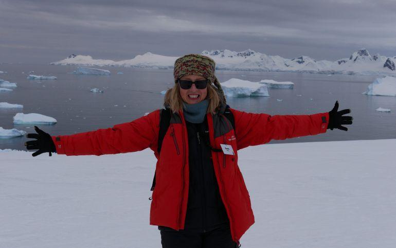 La Antártida más femenina que nunca
