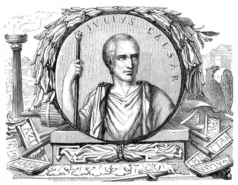 Julio César y las supersticiones de Roma