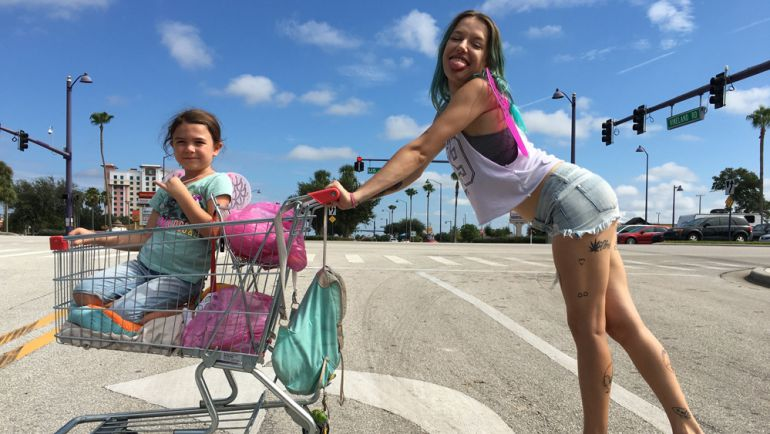 Fotograma de 'The Florida project', la cinta de Sean Baker