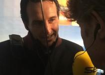 Emery se pone de acuerdo con Iturralde sobre la actuación del árbitro