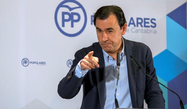 El coordinador general del Partido Popular, Fernando Martínez-Maillo.