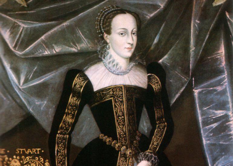 La reina de Inglaterra, María Estuardo y John Dee