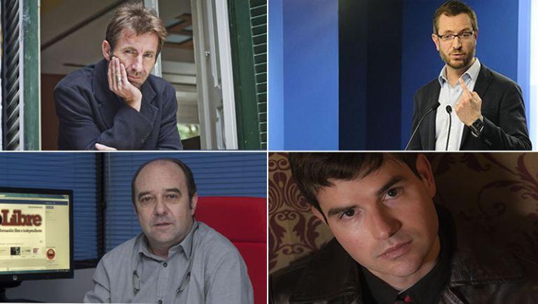 Jesús Maraña, Antonio de la Torre, Marc Dorian y Javier Maroto.