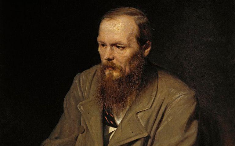 El angustiado Fiódor Dostoievski