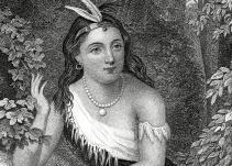 La boda de la traviesa Pocahontas y su transformación en Lady Rebeca
