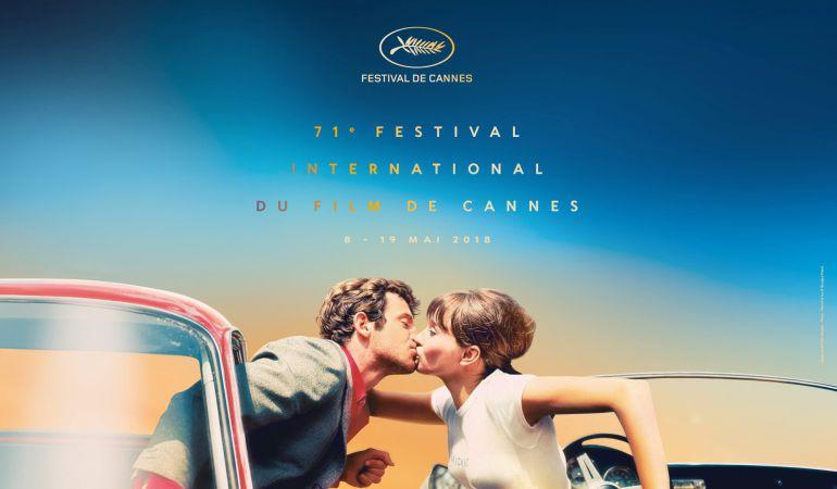 El póster oficial de la 71º edición del Festival de Cannes.