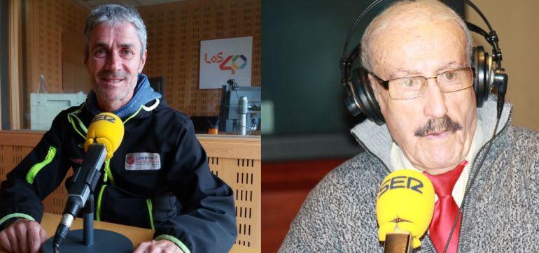 martín fiz six majors: Homenaje a dos mitos del atletismo: Martín Fiz y Valentí Huch