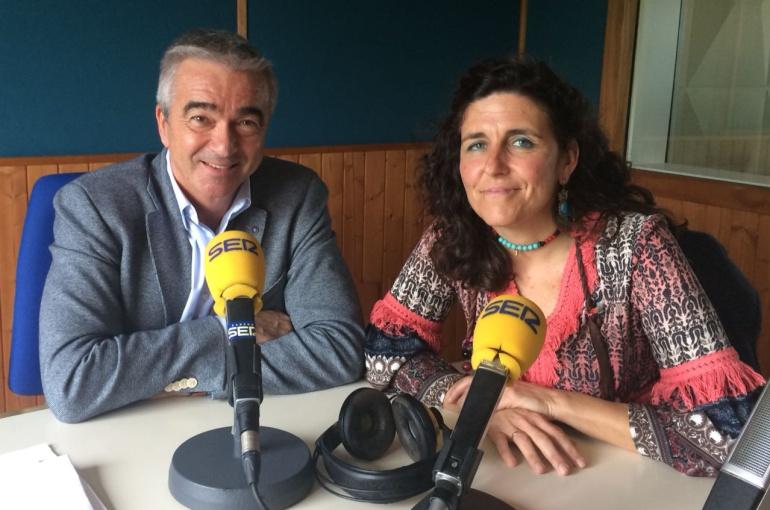 Carles Francino y Rocío Cardeñoso